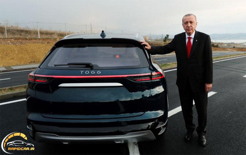 اردوغان و خودروی ملی ترکیه