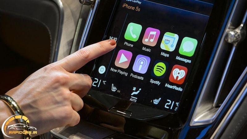 افزایش ارتباط گوشی های اپل با سیستم اتومبیل ها