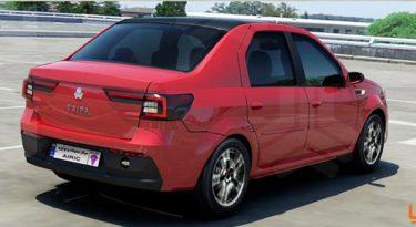 سایپا P90 اتومبیل جدید تولید ایران