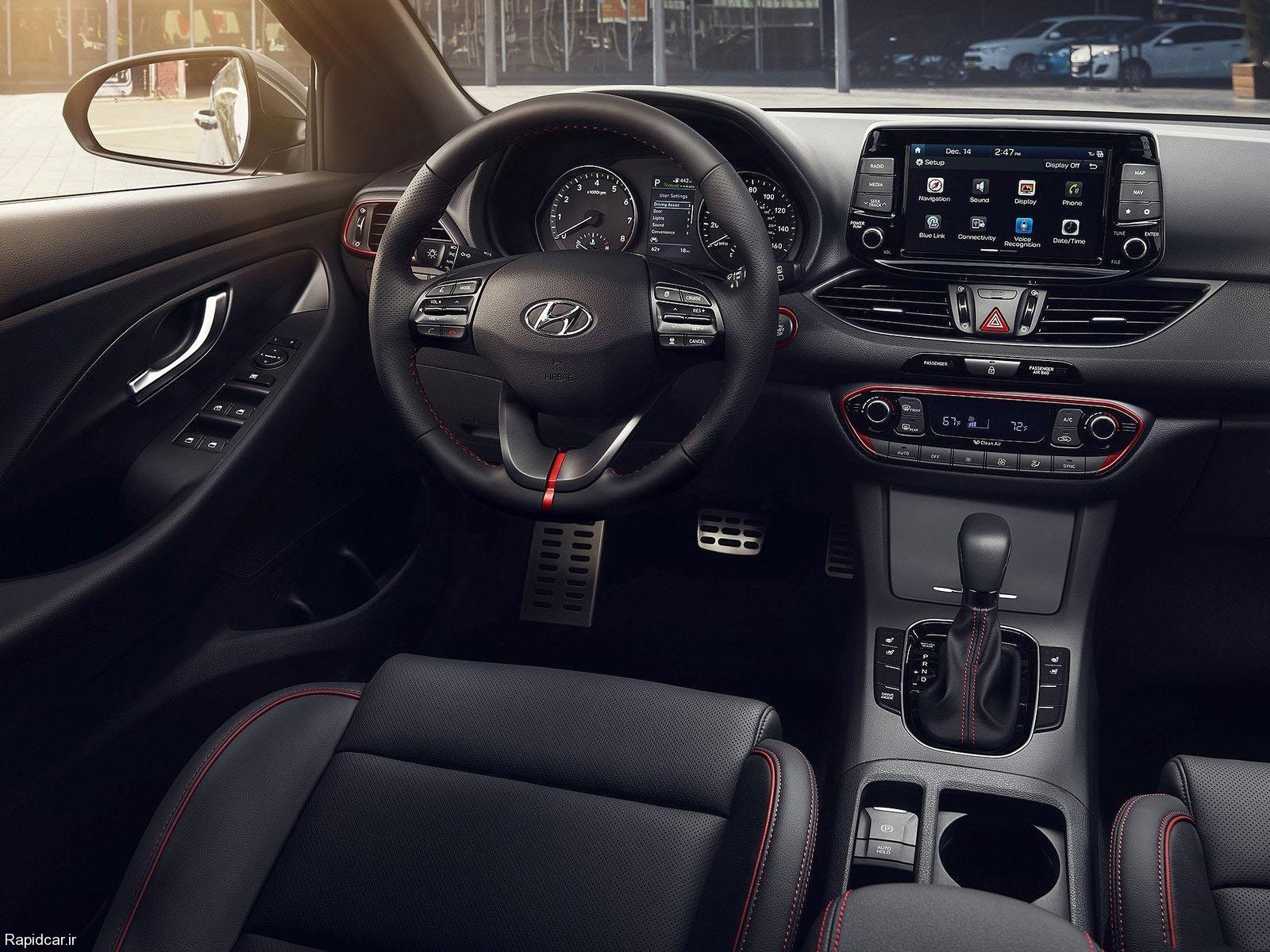 ماشین هیوندای النترا GT 2018